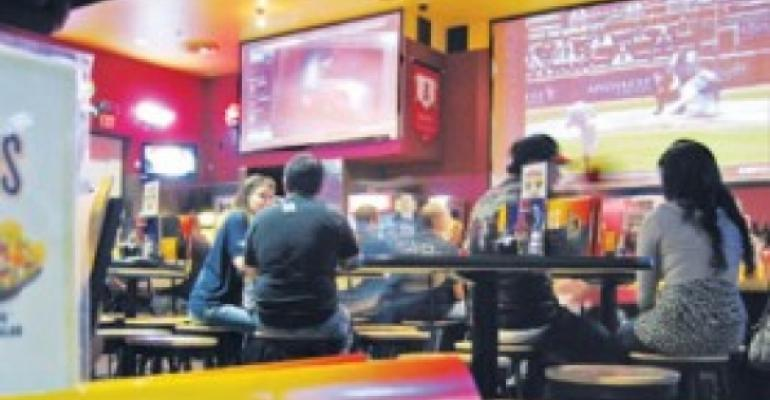 Profit surge by Buffalo Wild Wings shows strength in sports bars