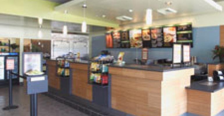 Togo's: New design cuts building costs, improves service