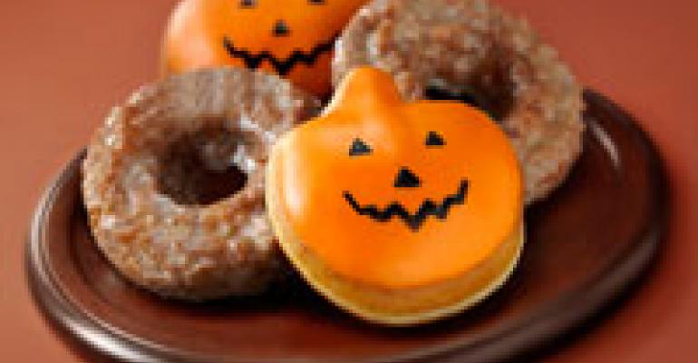 Krispy Kreme carves out pumpkin LTOs