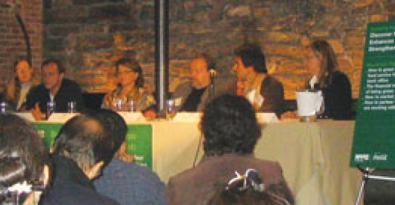 Restaurants' voracious appetite for resources ups their responsibility to conserve, says panel