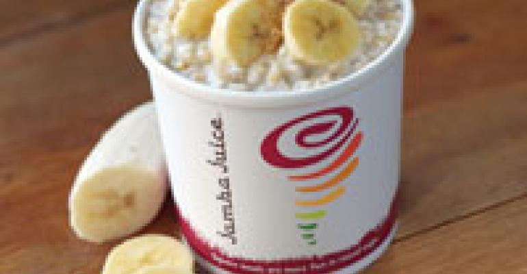 Jamba Juice debuts oatmeal