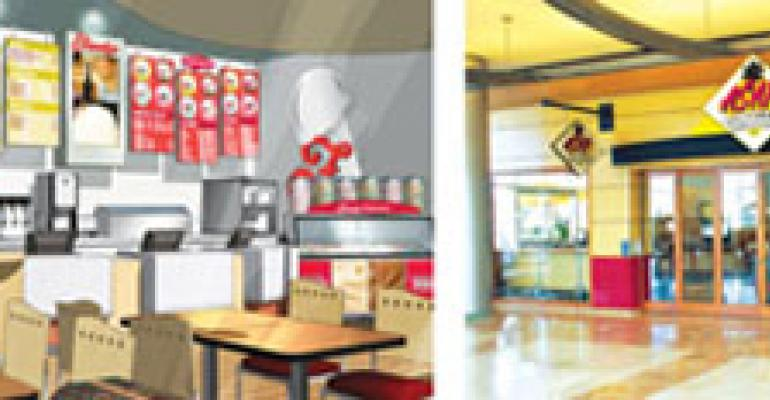 Scale down to fast casual, ramp up market share
