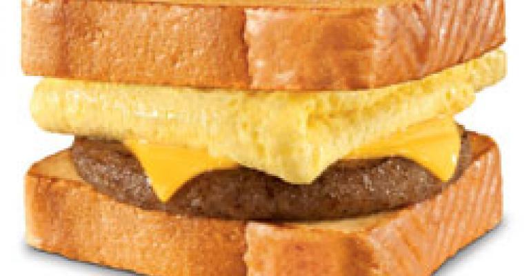 Hardee's unveils Texas Toast Breakfast Sandwiches