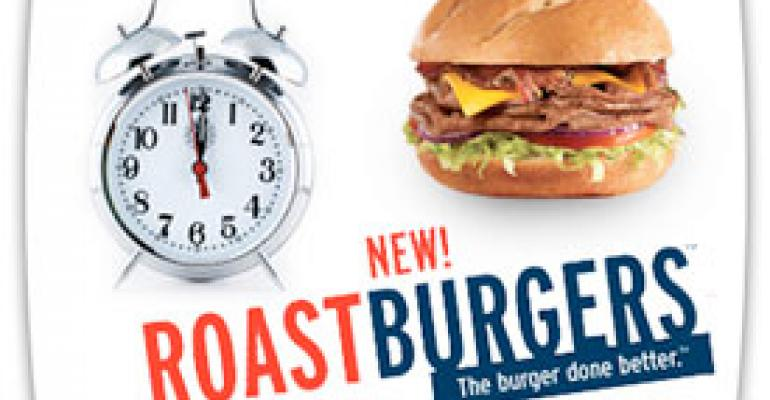 Arby's promos Roastburger with giveaway