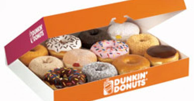 Dunkin' Donuts goes back to its roots