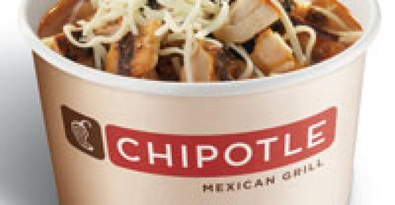 Chipotle puts focus on value in menu test