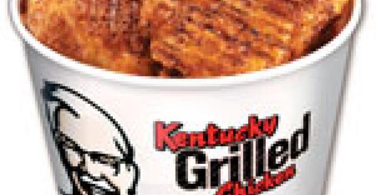 KFC debuts grilled chicken with national ads