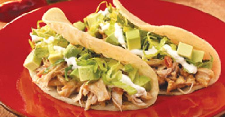 Dish of the Week: Smoky peanut butter-braised chicken taco
