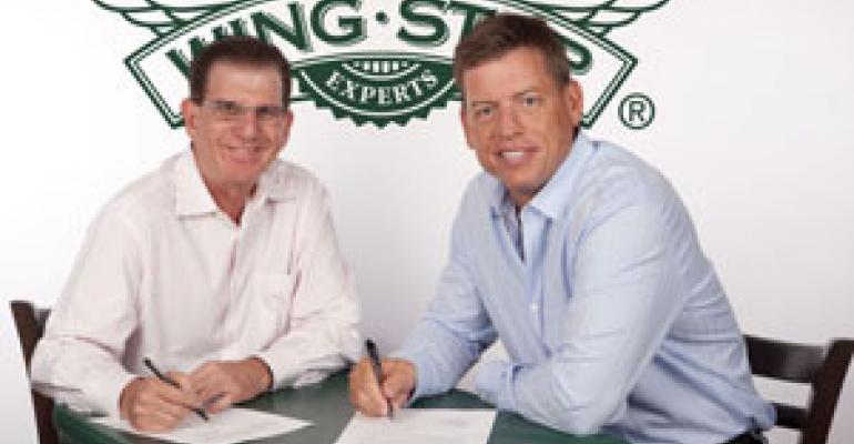 Aikman to remain Wingstop spokesman