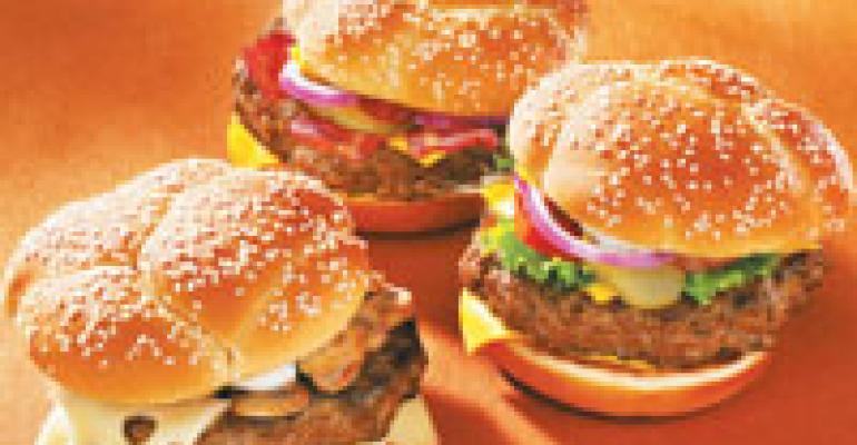 McD jumps into national burger battle with Angus Third Pounder