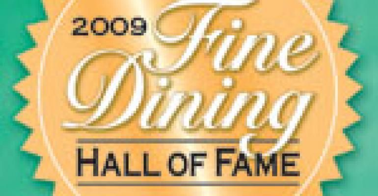 2009 Fine Dining Hall of Fame