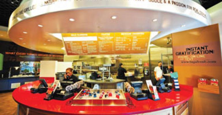 Baja Fresh eyes bigger dinner sales with new prototype