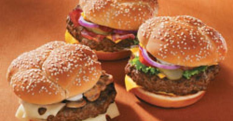 McDonald's throws its weight into premium burger battle