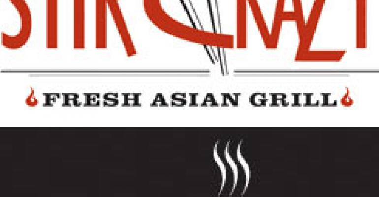 Stir Crazy Fresh Asian Grill, Flat Top Grill to merge