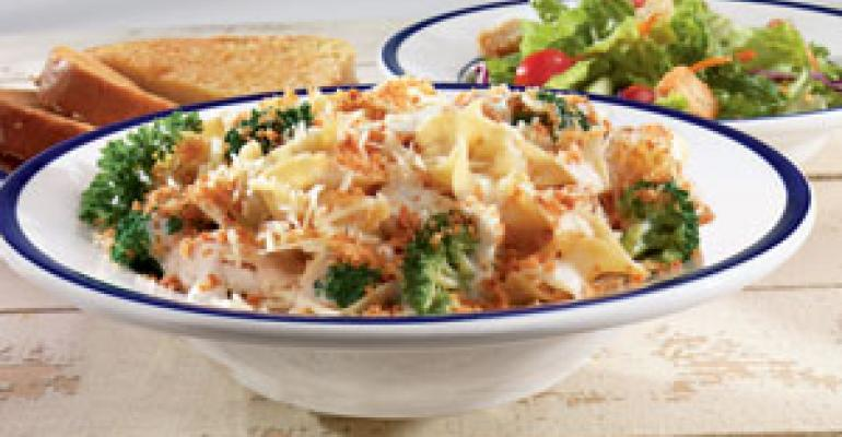 Bob Evans serves up new pasta dishes