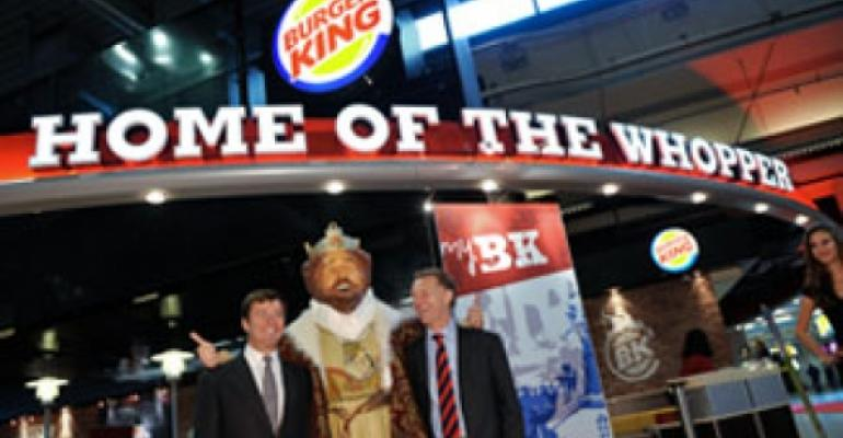 Burger King's crown jewel in Amsterdam reopens with new design