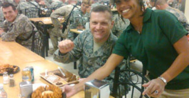 OSI delivers a taste of home to troops