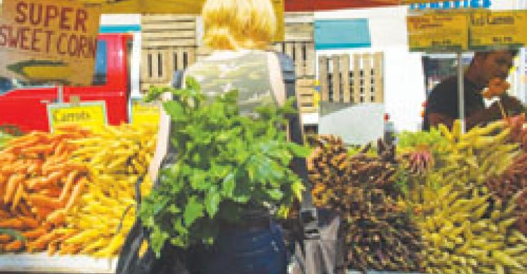 Eco-friendly practices, local purchasing top trends list for 2010, new NRA survey says