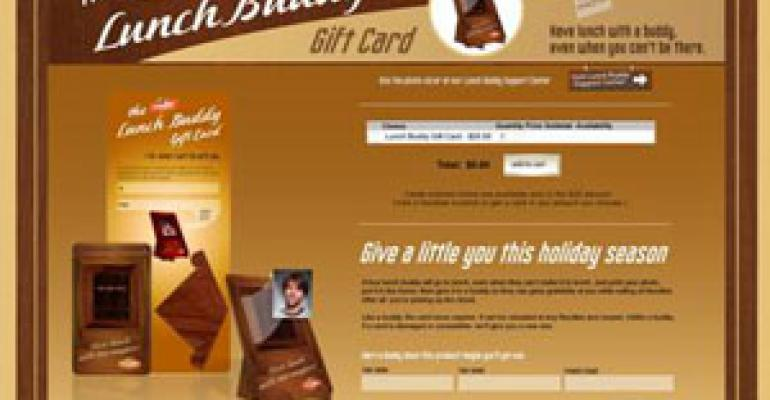 Restaurants try to make gift cards personal