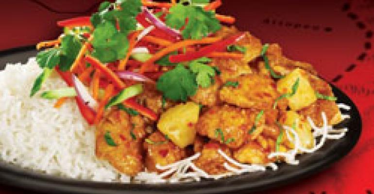 Pei Wei adds Vietnamese Caramel Chicken