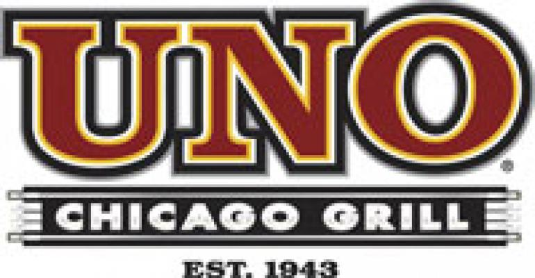 Uno Chicago Grill parent files for Ch. 11