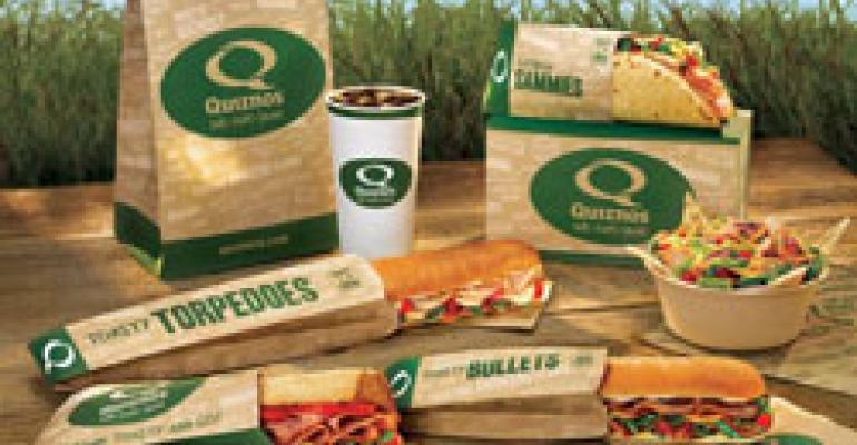 Darden, Quiznos unveil green strategies