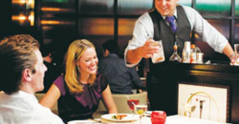 Martinis shake up bar scene with resurgence