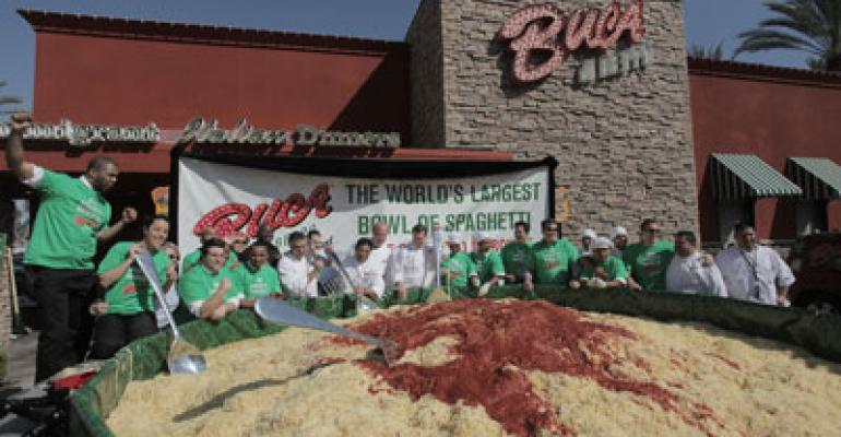 Buca serves up giant bowl of pasta