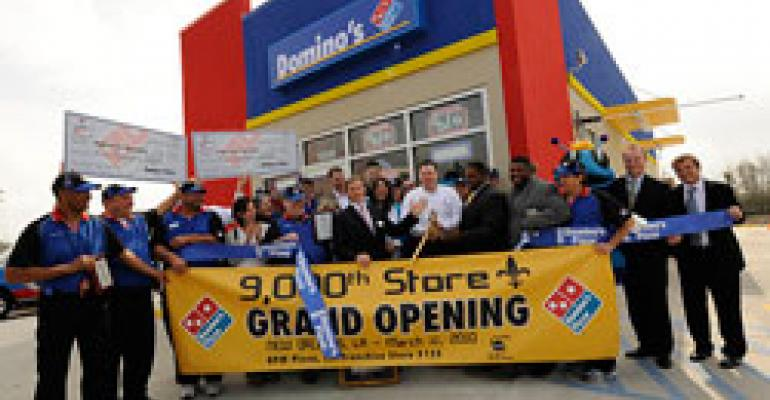 Domino's opens 9,000th store