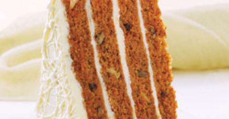 4 High Carrot Cake