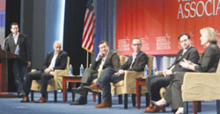 Panels, education sessions put a premium on growth, innovation