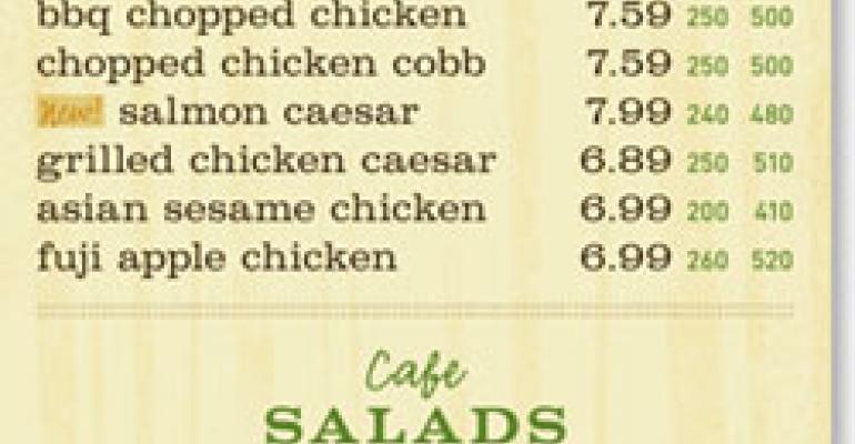Calorie countdown