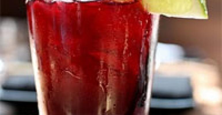 NRN Featured Beverage: Hibiscus Agua Fresca