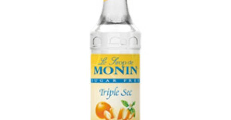Serve Skinny Cocktails with Monin Sugar Free Triple Sec Syrup