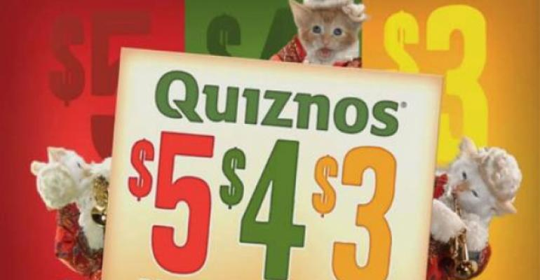 New ads tout Quiznos' expanded value menu