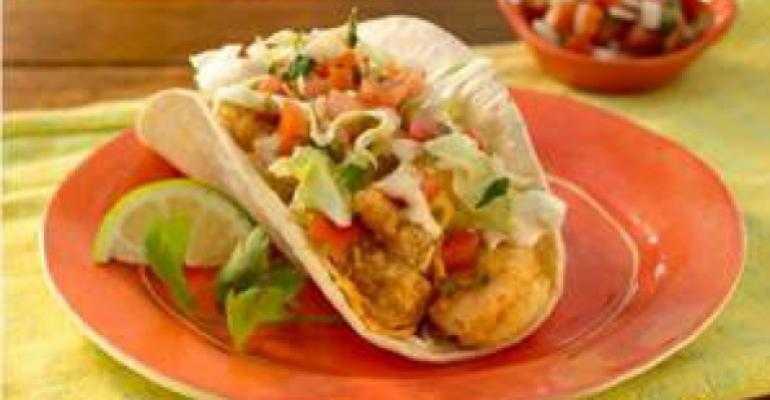 Taco Del Mar adds crispy shrimp LTO
