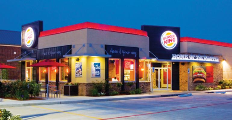 Burger King lays out menu strategy