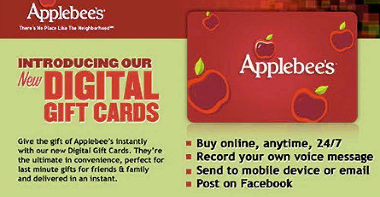 More restaurants selling virtual gift cards