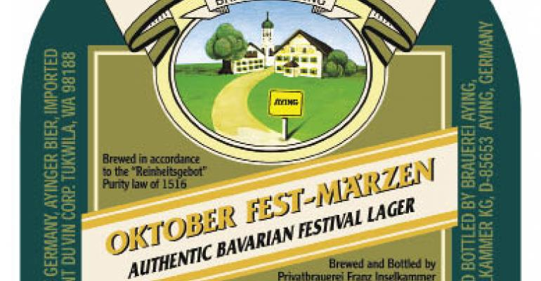 Beaumont's beer pick: Ayinger Oktober Fest-Märzen