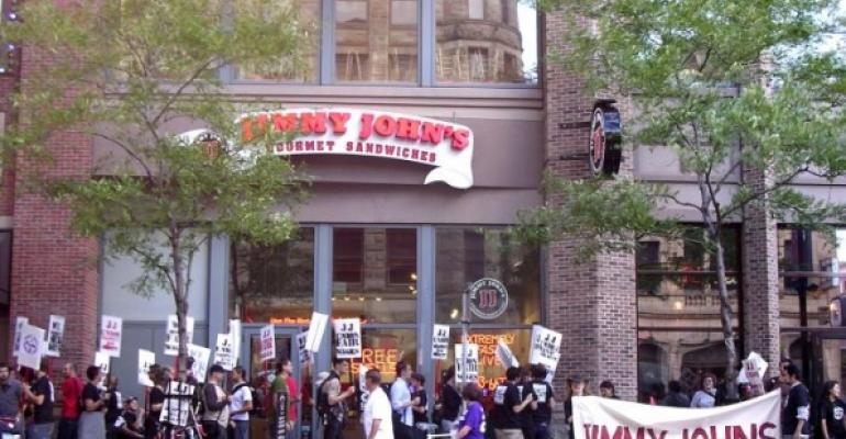 Jimmy John's workers in Minneapolis look to unionize