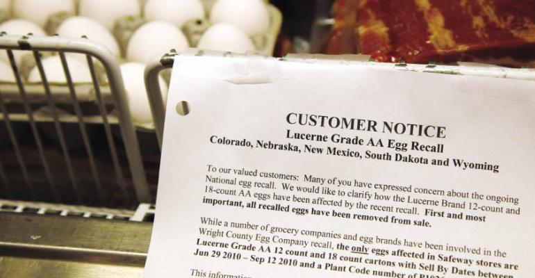 Restaurants scrutinize egg suppliers and food safety procedures