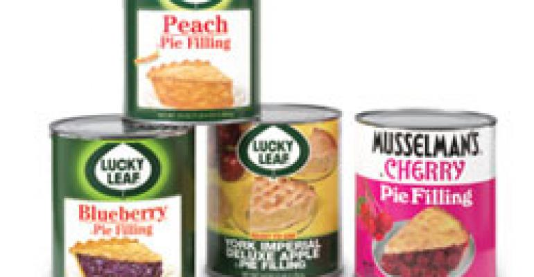 Fruit Pie Filling from the apple experts at Knouse Foods