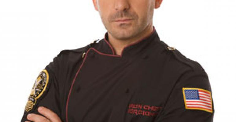 Marc Forgione on being the Next Iron Chef