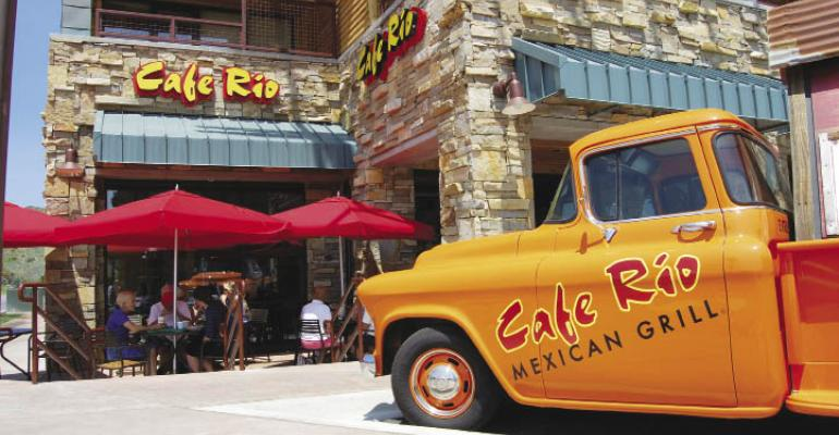 Growth Chains: Cafe Rio Mexican Grill