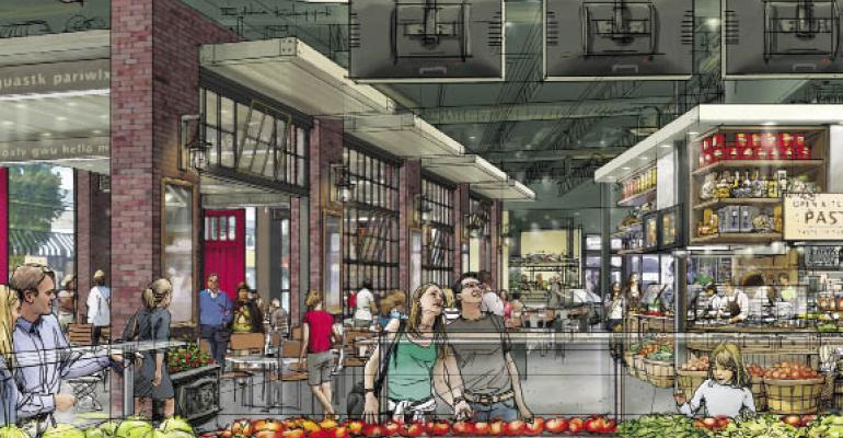 Kitchen equipment takes center stage at high-volume food halls