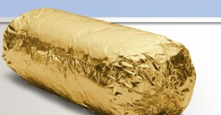 Chipotle gets wrapped in gold