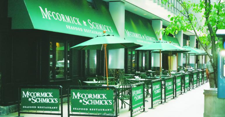 McCormick & Schmick's highlights local fare
