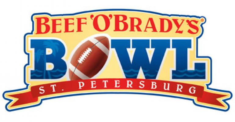 Beef 'O' Brady's extends bowl game sponsorship