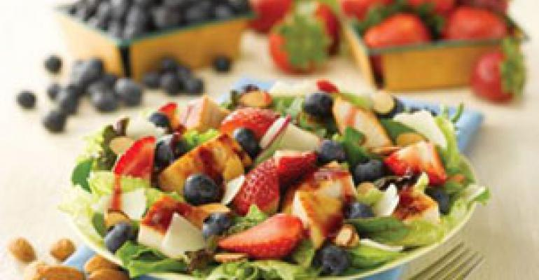 Wendy's debuts berry-topped salad for summer