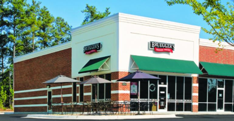 Bruegger's to open first U.S. Timothy's Coffee unit